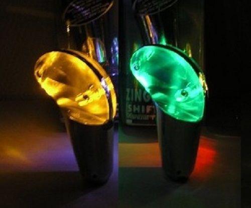 beleuchteter schaltknauf blazing shiftknob verschiedene farben universal. Black Bedroom Furniture Sets. Home Design Ideas